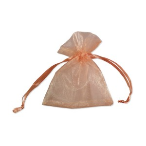 Sachets organza Orange 10x8cm x25