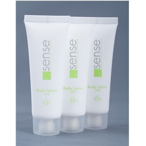 Lotion corps en tube 30ml. par 50